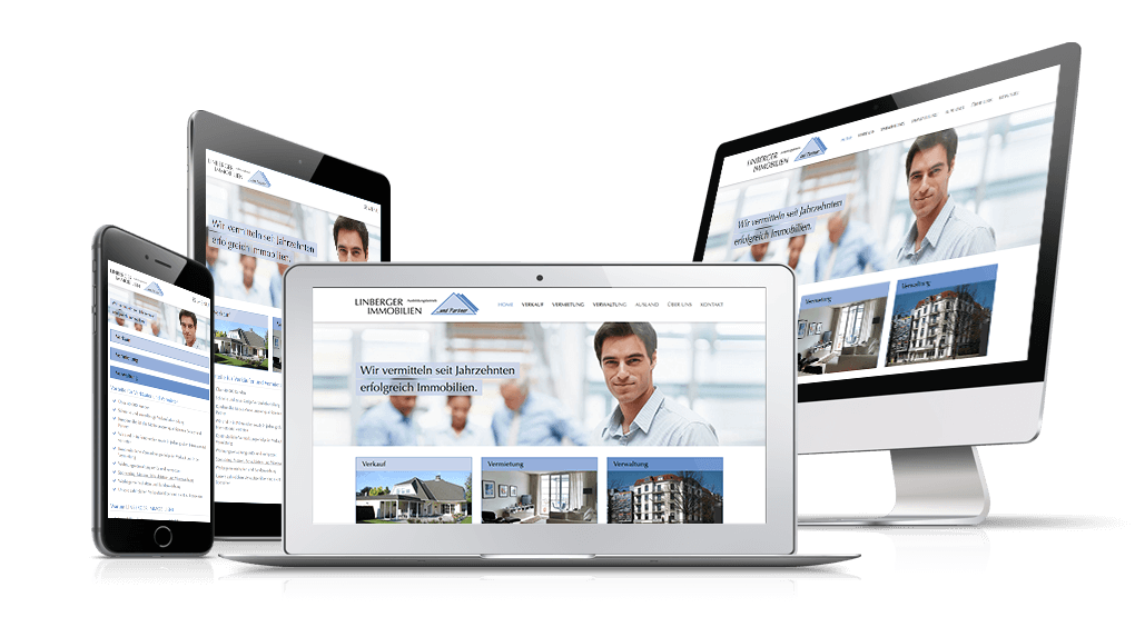 webEdition Website Immobilienmakler